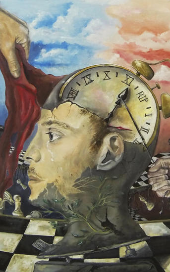 El juego del iluso Lienzo Óleo Retrato