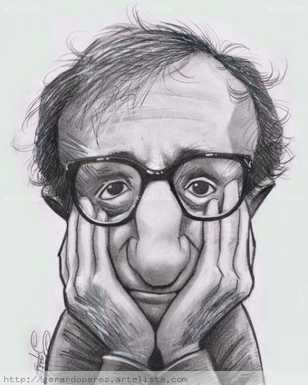 Woody Allen Lápiz