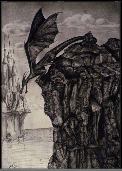 Tierra de Dragones Tinta