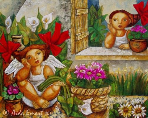 el angel de las flores aida emart