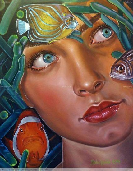 Aquarious Otros Óleo Retrato