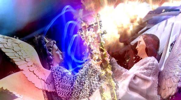 Juego de santos Otras temáticas Color (Digital)