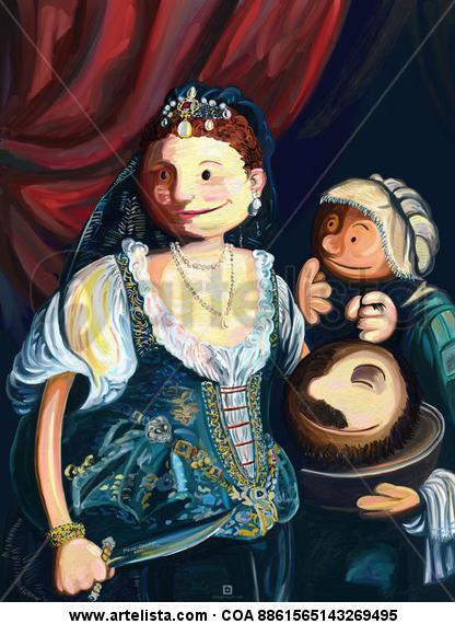 Judith con la Cabeza de Holofernes Otros Otros Otros