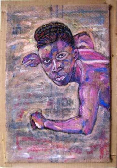 DAK ART Retrato Acrílico Tela