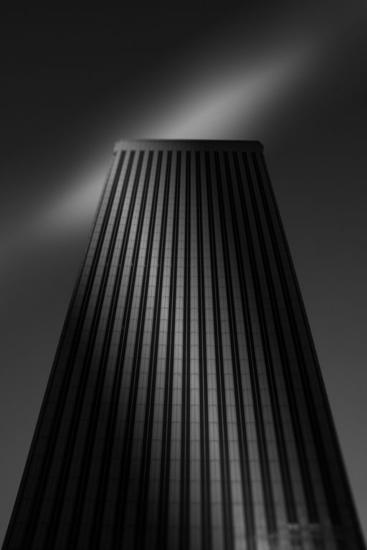 Torre Picasso Blanco y Negro (Digital) Arquitectura e interiorismo
