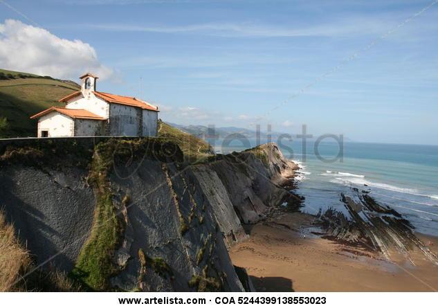 La ermita de San Telmo  ( Ocho apellidos vascos ) Color (Digital) Viajes