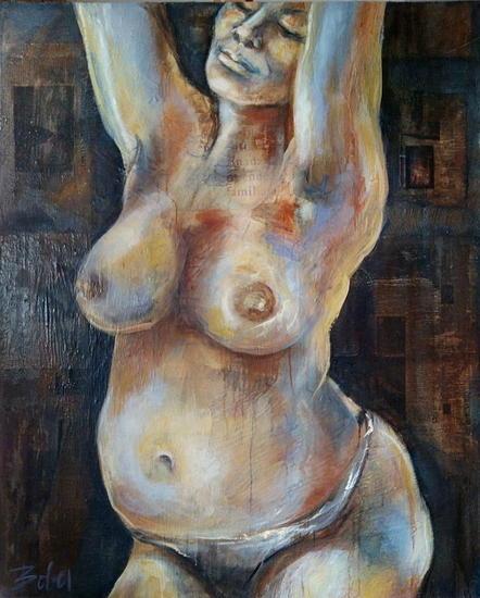 Grande Desnudos Lienzo Óleo