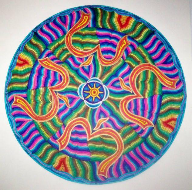 Mandala 1- Om Rotulador