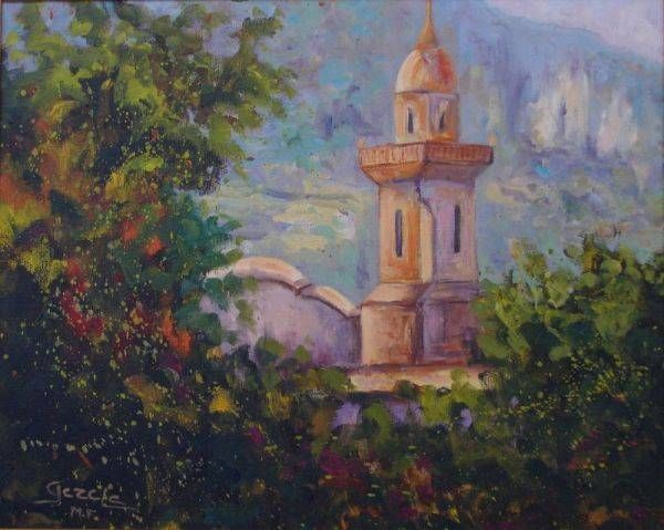 Valldemossa Landscaping Oil Canvas