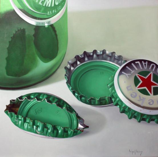 Verde Tabla Óleo Bodegones