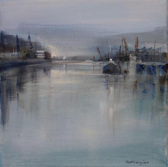 Reflejos Acrylic Marine Painting Canvas
