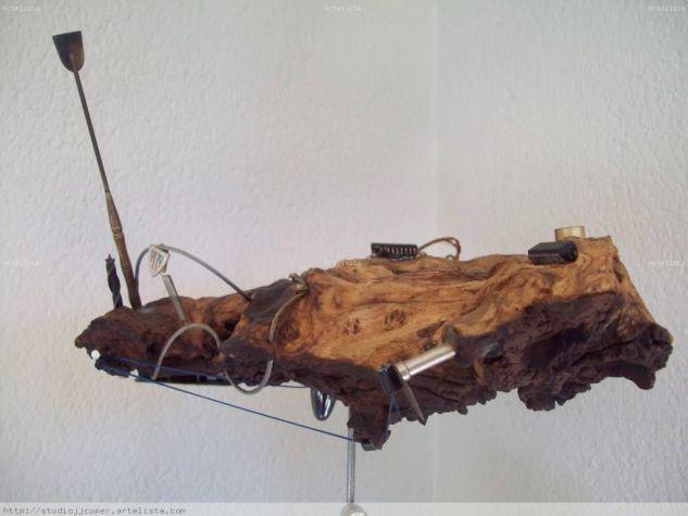 TRAINERA DEL ATHLETIC Madera Figurativa