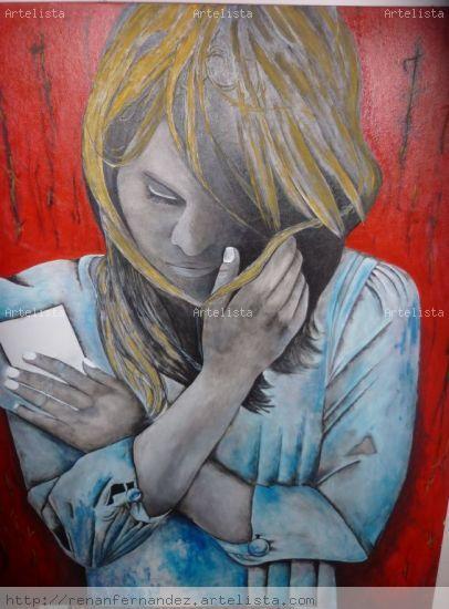 PARTIR Acrylic Others Portrait