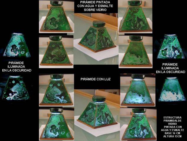 Las huellas del agua en la piramide Media Mixta Cristal Otros