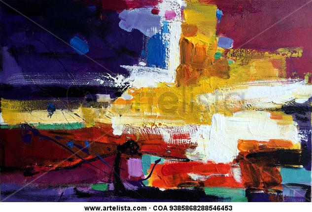 abstract 086 Otros Óleo Lienzo