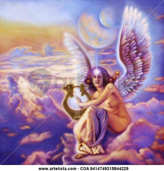 Angel of Love Lienzo Óleo Otros