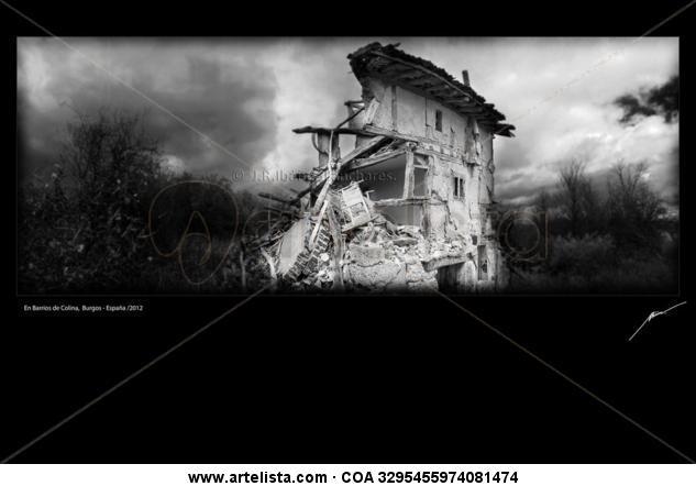 Barrios de Colina, Burgos-España/2012 Black and White (Digital) Architecture and Interiorism