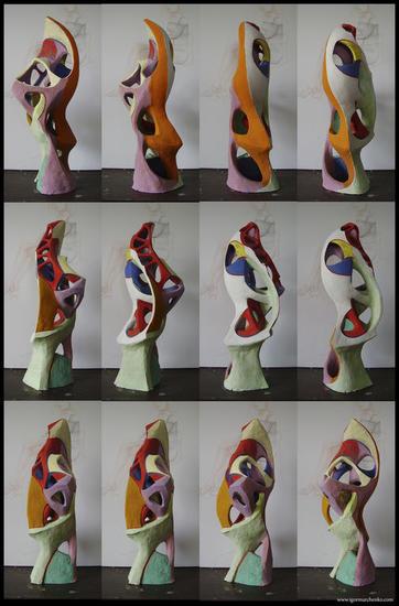 Colour construction. Model-1. Otros Otros Otros