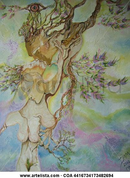 el femenino del arbol