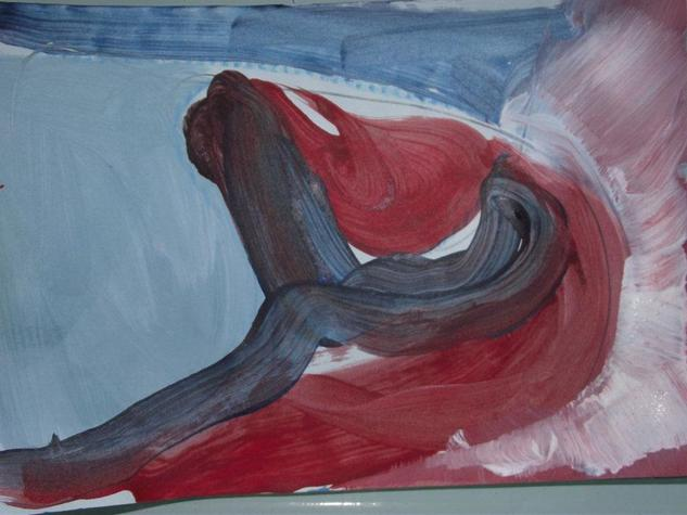 boceto abstracto 1 Paisaje Lienzo Óleo