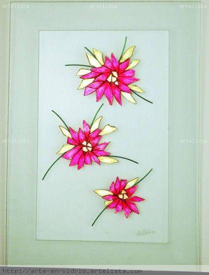 flores silvestres 1-1 Otros Cristal Paisaje