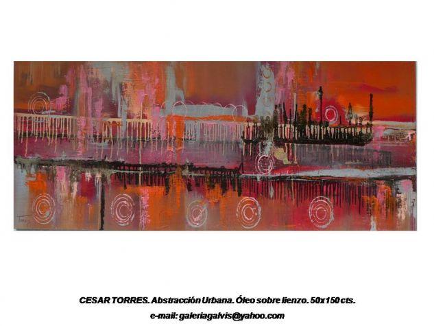 CESAR TORRES. ABSTRACCION