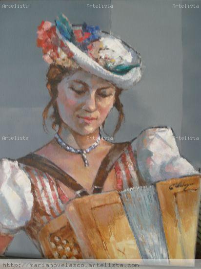 la acordeonista de parís