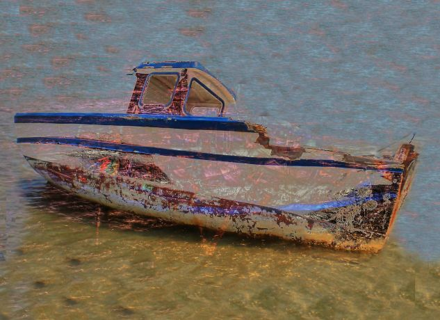 old boat Conceptual/Abstracto Color (Digital)