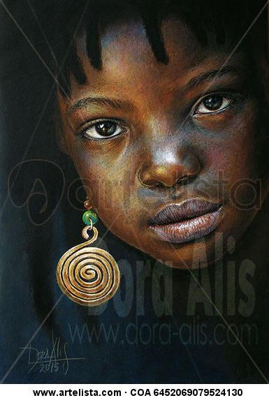 Niña de Africa 92 Otros