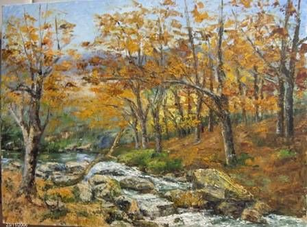 otoño junto al rio