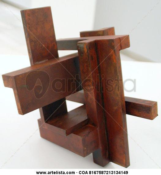 VOLUMEN GEOMÉTRICO IV (PARALELISMOS) Iron Abstract