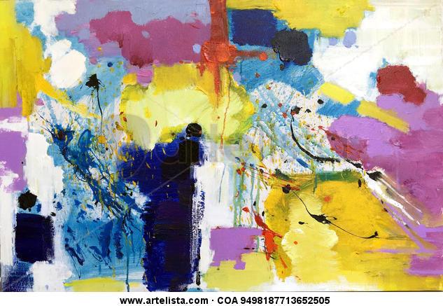 abstract 087 Otros Óleo Lienzo