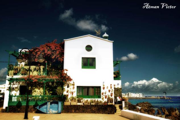 Casona costera en Arrieta Color (Digital) Viajes