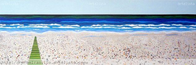 Buscando la libertad Oil Canvas Marine Painting