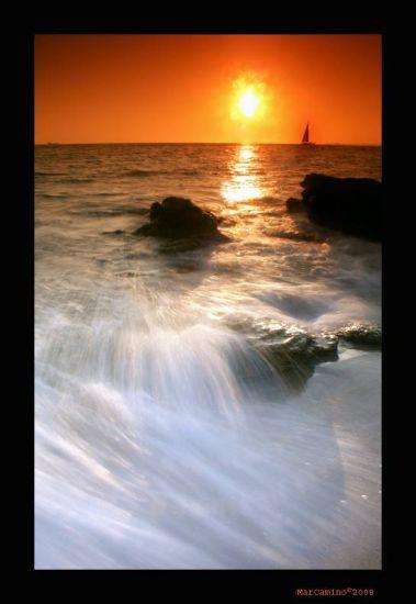 playa de la MURALLA ( cádiz,andalucía)