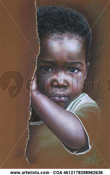 Niño de África 79 Pencil