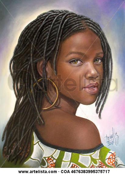 niña de raza negra 41