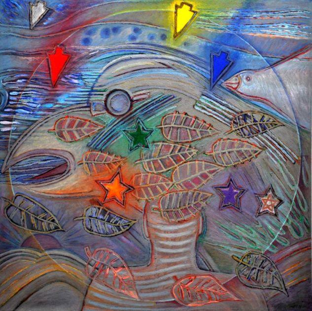 VIENTO  Oil Canvas Figure Painting