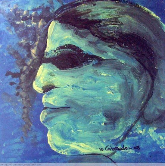 EL MEDALLISTA Óleo Lienzo Retrato