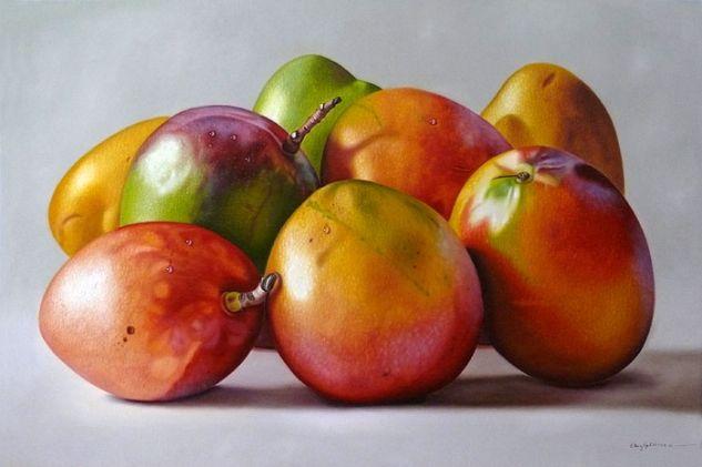 Mangos Oil Canvas Still Life Paintings