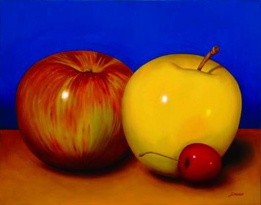 manzanas y cereza Leonor Hilda Carranco Vargas - Artelista.com