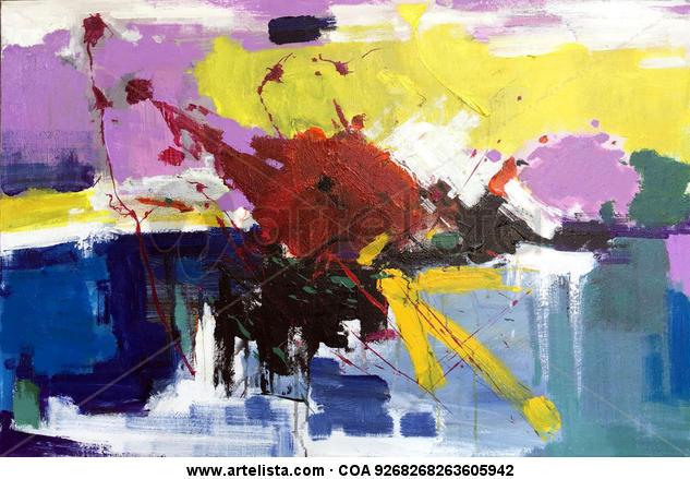 abstract 082 Otros Óleo Lienzo