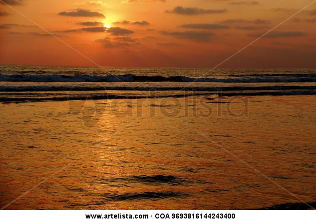 Crepúsculo dorado Color (Digital) Naturaleza