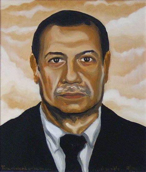 Avi Óleo Lienzo Retrato