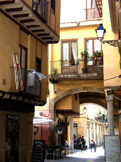 Barrio de La Ribera ,BARCELONA Color (Digital) Architecture and Interiorism