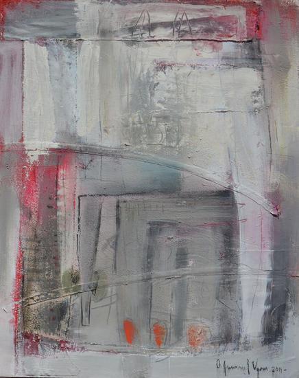 abstracto en gris