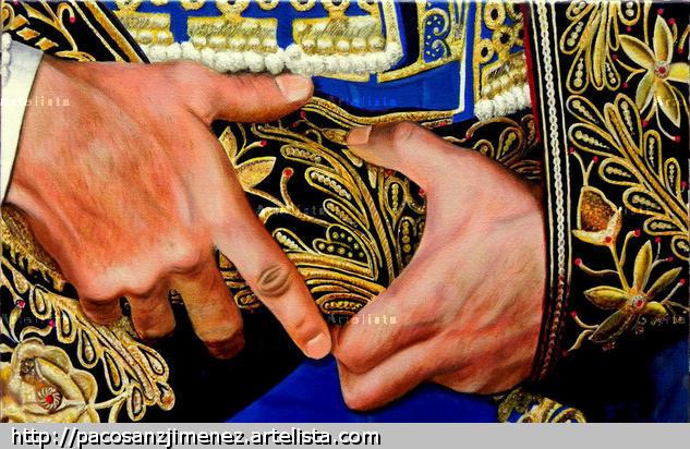 manos con mucho arte