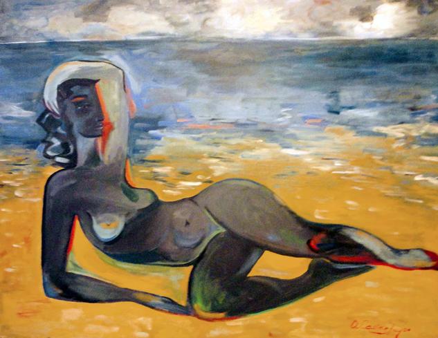 desnudo mexicano Desnudos Óleo Lienzo