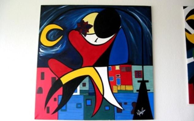 Tango II Lienzo Acrílico Figura