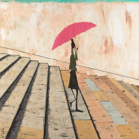 Plovent a París Lienzo Otros Otros